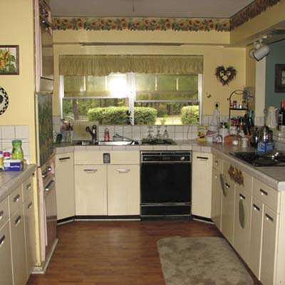 a reader remodeled kitchen before in Shreveport, La.