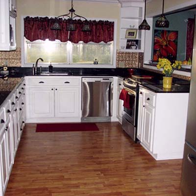 a reader remodeled kitchen after in Shreveport, La.
