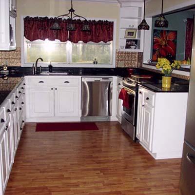 a reader remodeled kitchen after in Shreveport, La.