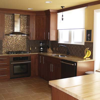 a reader remodeled kitchen after in Grosse Pointe Farms, Mich. 