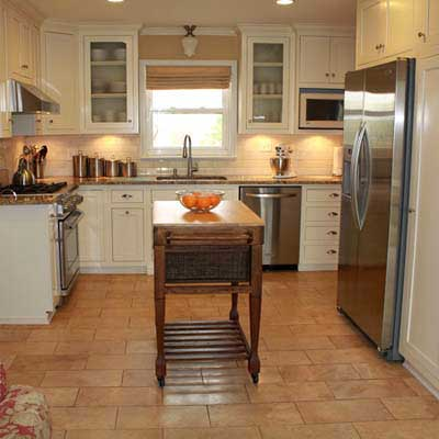 Ranch kitchen remodel after best kitchen before and for Old home kitchen remodel