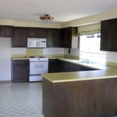 a reader remodeled kitchen before in Eugene, Oreg.