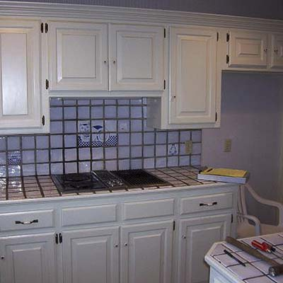 a reader remodeled kitchen before in Edmond, Ok.