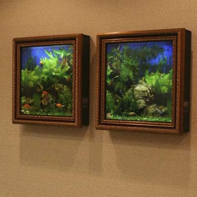 Fish Frame 10 Crazy Aquariums This Old House