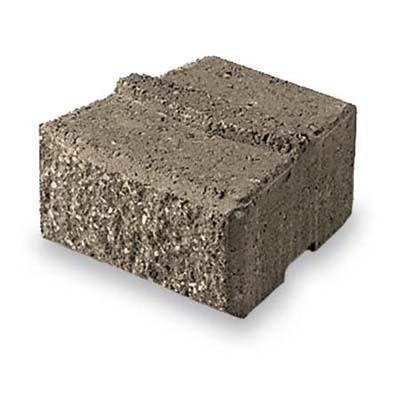 Curvy roman stack concrete block