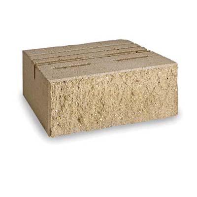 Standard concrete block