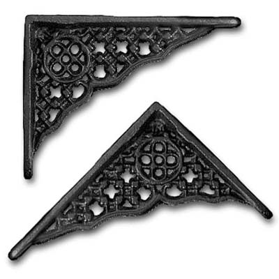 metal bracket from the house of antique hardware