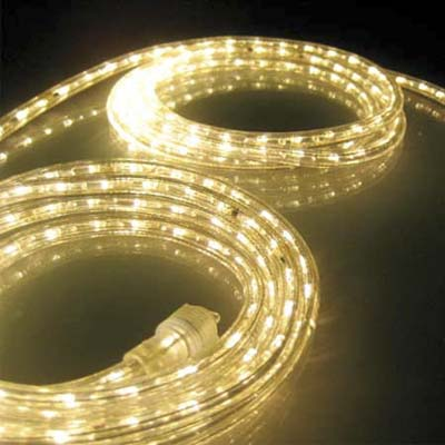 coiled rope lights