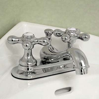 cross handled faucet