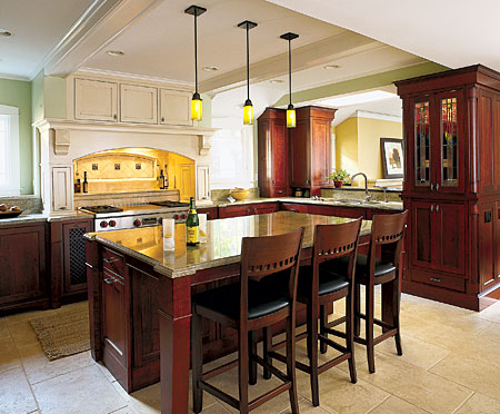 masculine refined kitchen