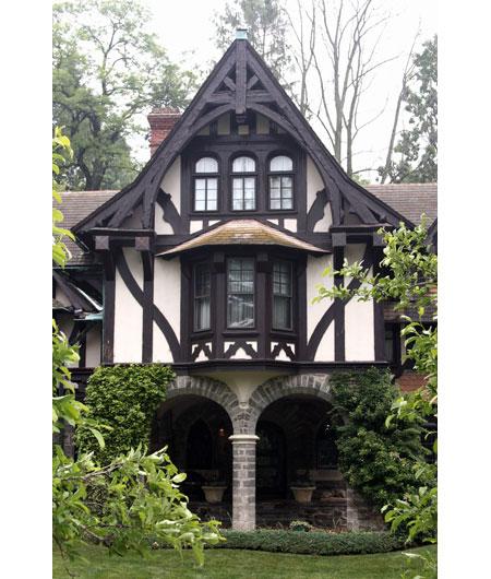 Tudor time gables this old house for Gables on a house