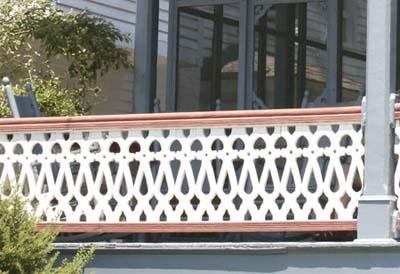 front porch rail