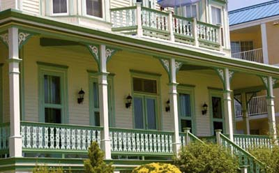 Color queues victorian era porches this old house for What color to paint my front porch