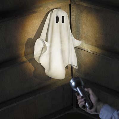 ghost in corner
