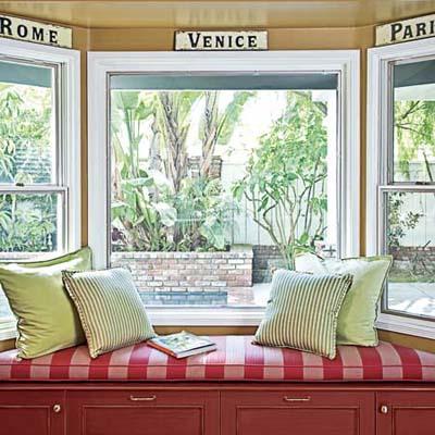 window seat adds storage