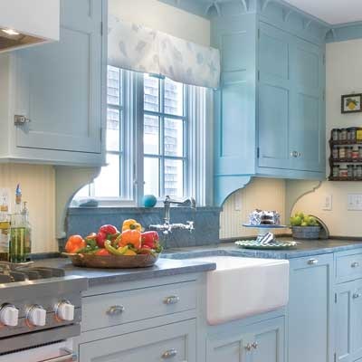 Cape Kitchen | 10 Big Ideas for Small Kitchens | This Old House