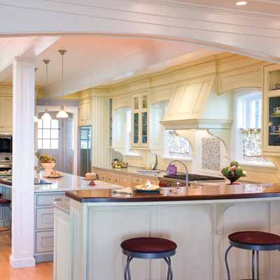 white kitchens from the nkba design competition