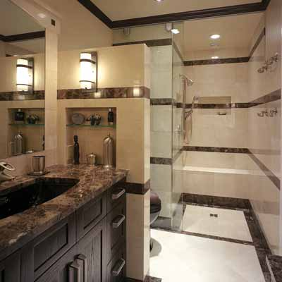 His-and-Her Bath | 13 Big Ideas for Small Bathrooms | This Old House