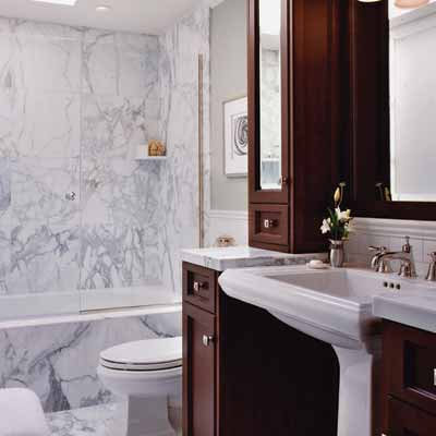Small space bathroom design domain picturesgetdomainvids for Small bath ideas