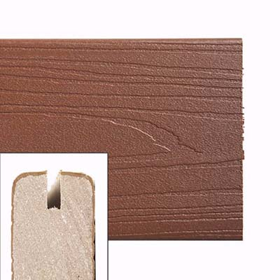 plastic wrapped composite wood