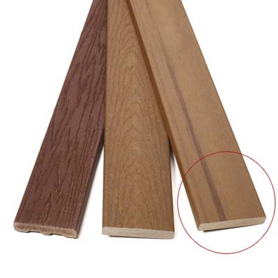 premium composite decking material