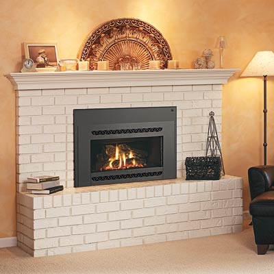 an insert gas fireplace from Lennox Hearth Products