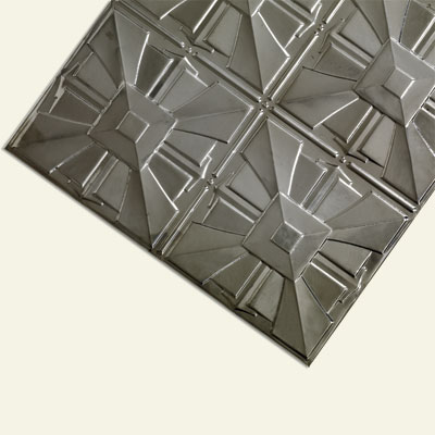 tin ceiling panels made from steel