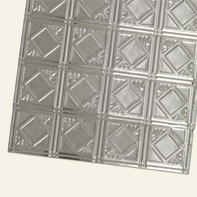tin ceiling panels made from stainless steel