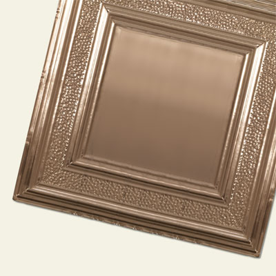 tin ceiling panels made from copper
