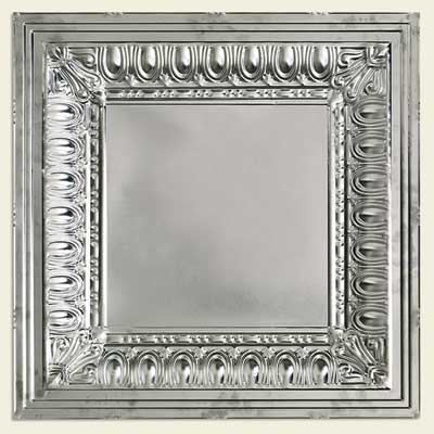 tin ceiling panels in the greek revival style