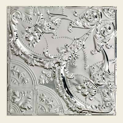 tin ceiling panels in the baroque style