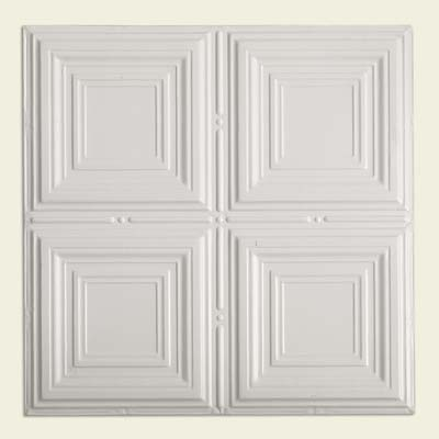 tin ceiling panels in the art deco style