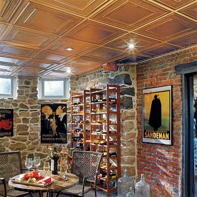 example of a tin ceiling