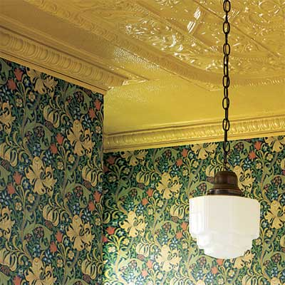 do it yourself finishes for tin ceilings