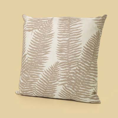 a throw pillow made by Grandin Road