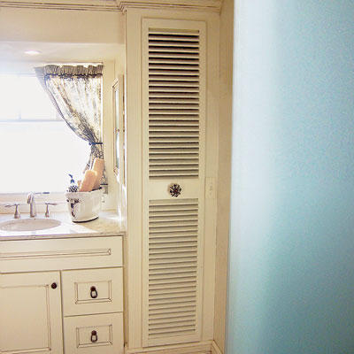 A re-purposed shutter  