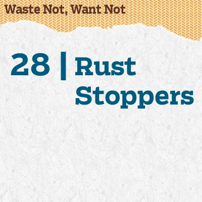 reader tip to save time and money about rust stoppers