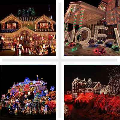 crazy decorated holiday houses intro