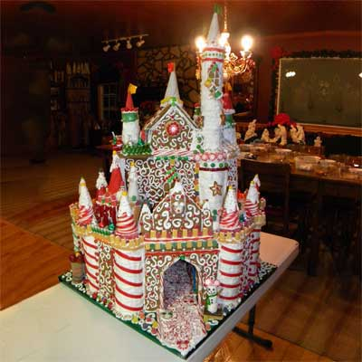 gingerbread disney world castle 2010 gingerbread house contest finalist