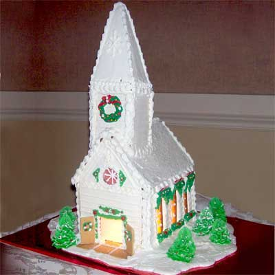 new england church 2010 gingerbread house contest finalist