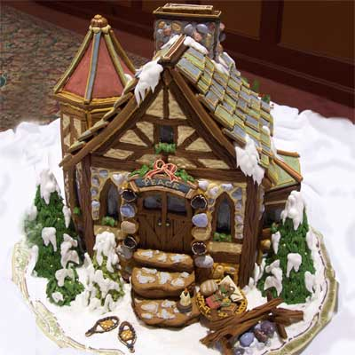 peace 2010 gingerbread house contest finalist