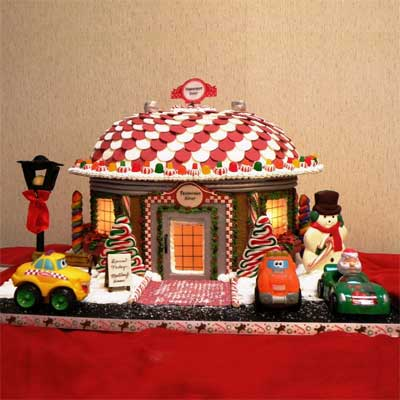 peppermint diner 2010 gingerbread house contest finalist