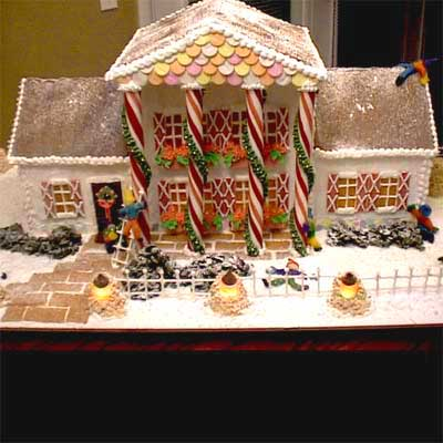 saint andrews train 2010 gingerbread house contest finalist