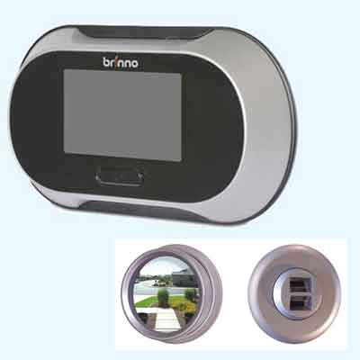 LCD screen peephole viewer