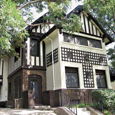 a Craftsman Tudor in Syracuse, NY that is still up for sale