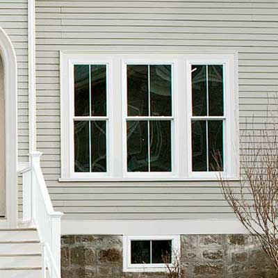 durable vinyl windows replaced the existing wood