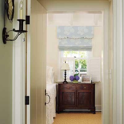 window in room off of hallway