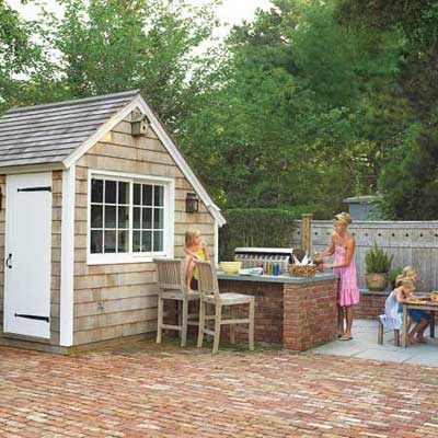 outdoor dining area with shed, editors top picks for sheds