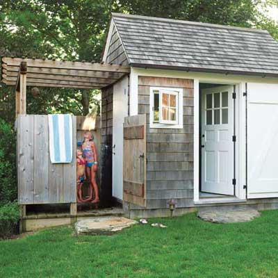 outdoor shower sensational outdoor retreats this old house