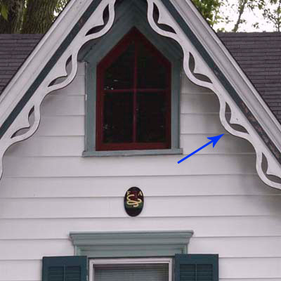 bargeboard on house